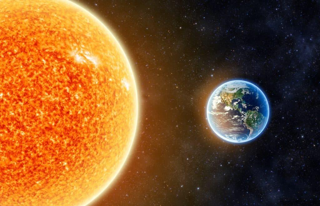 Koliko je zemlja udaljena od sunca